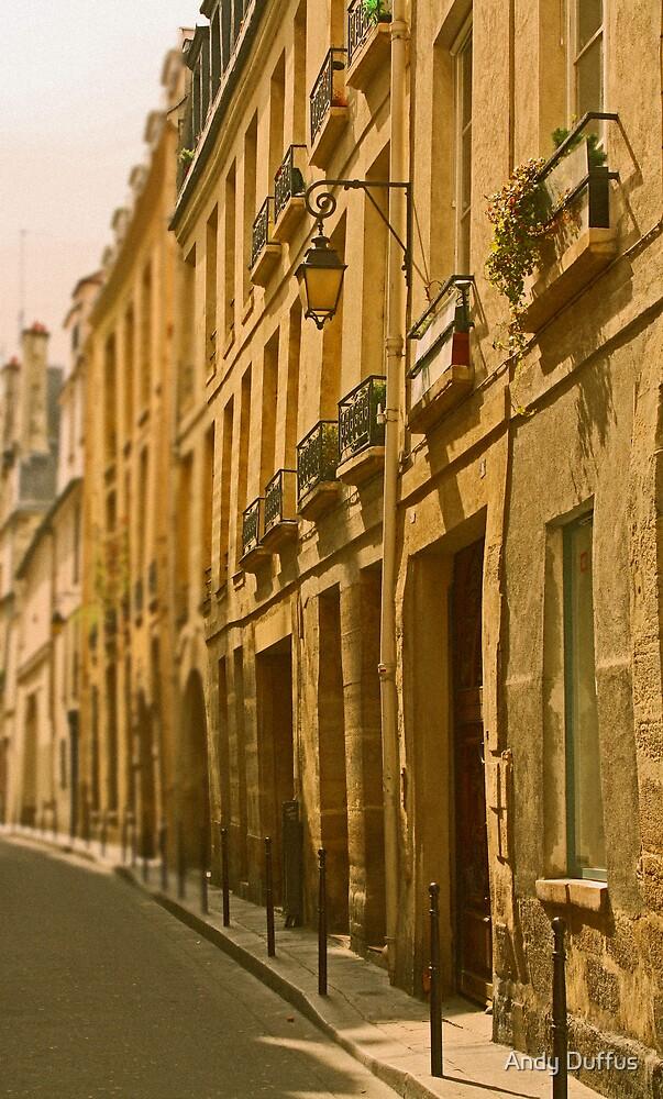 Marais, Paris by Andy Duffus