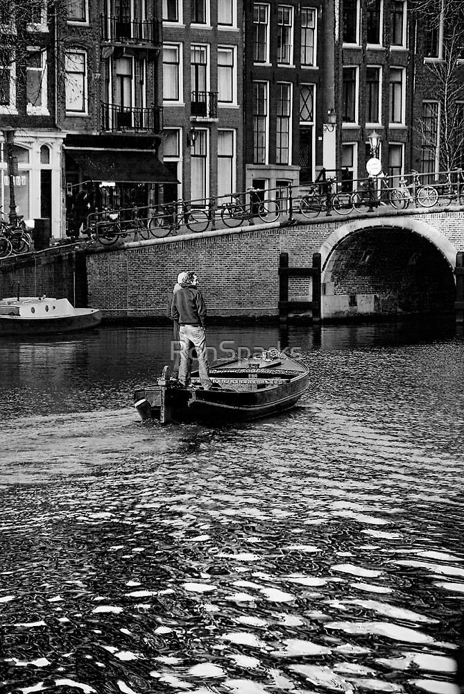 Cruisin Amsterdam style... by RonSparks