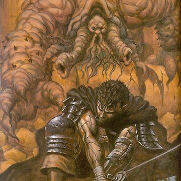 Berserk - Guts vs Apostle by Filox