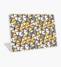 Chubby Cockatiel Party Laptop Skin