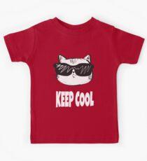 Cool cat Kids Tee