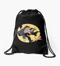 The Adventures of Ripley Drawstring Bag