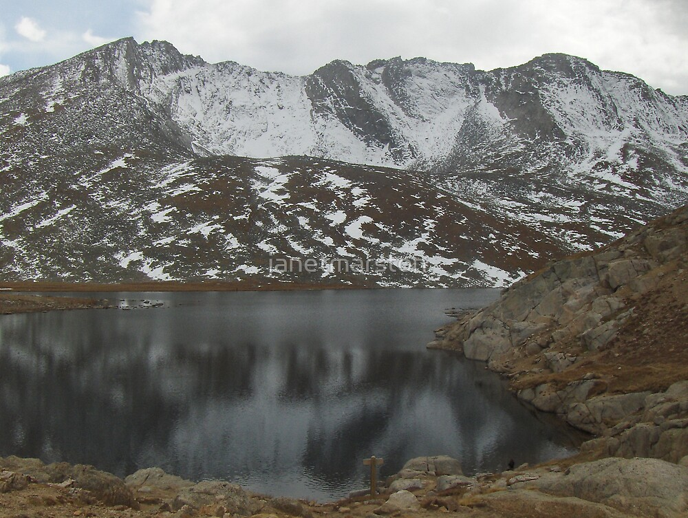 Summit Lake, Mt. Evans, Colorado by janetmarston