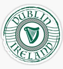Irland Stempel Sticker