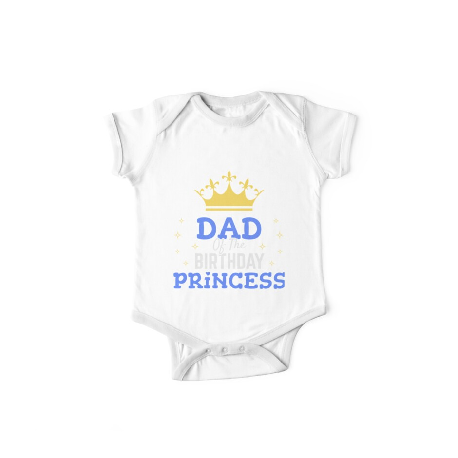 Dad Of The Birthday Princess Girl Gift Father Present