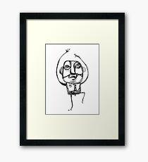 Dancing Office Man Framed Print