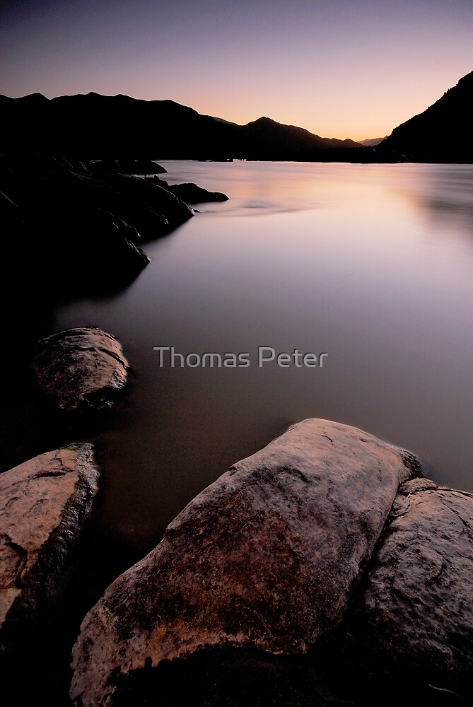 Orange River Sunset by Thomas Peter