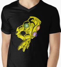 Infinity Gauntlet Men's V-Neck T-Shirt