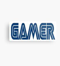 Gamer, video games, retro gamer Metal Print