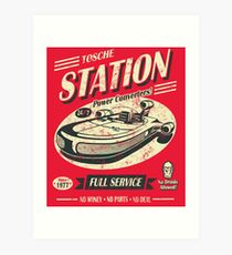 Tosche Station Art Print