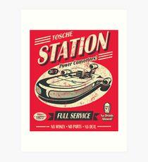 Tosche Station Art Print