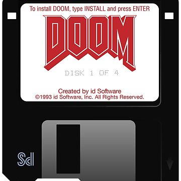 Doom Floppy Disk by philstrahl