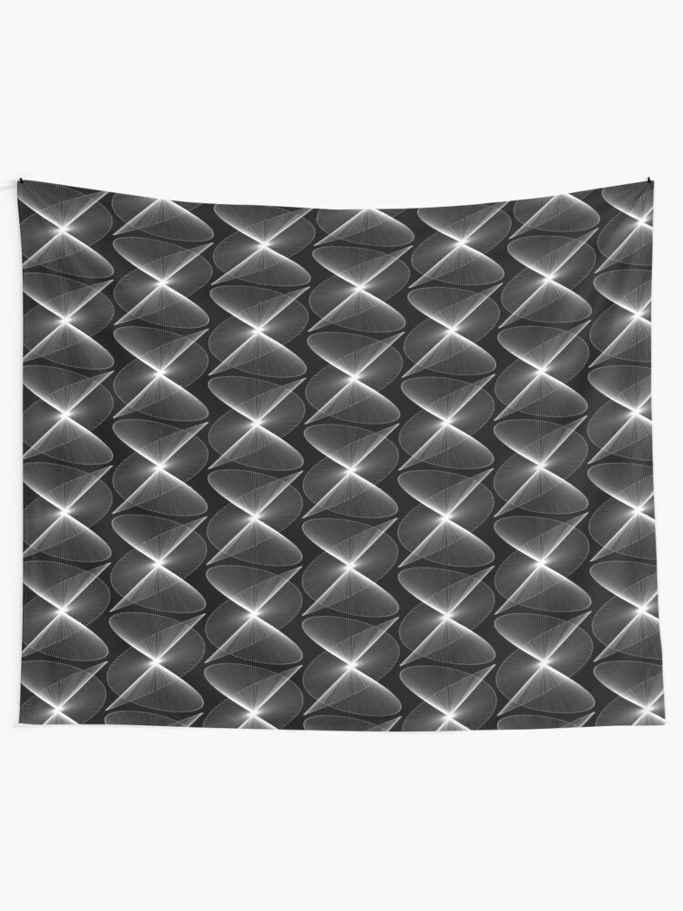 Alternate view of Lissajous XXVII Wall Tapestry