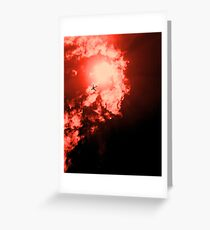 Men on Fire Greeting Card