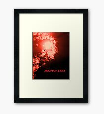 Men on Fire II Framed Print