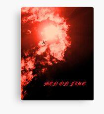 Men on Fire II Canvas Print