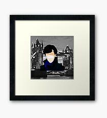 Benedict Cumberbatch - Sherlock 2.0 Framed Print
