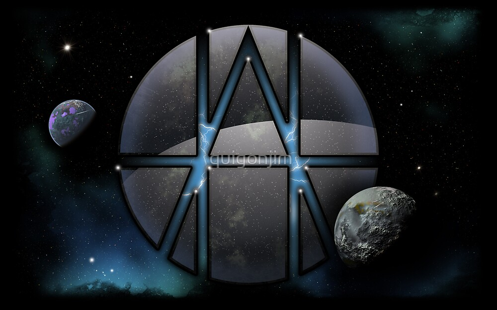 Planets n' Stars Desktop Wallpaper by quigonjim