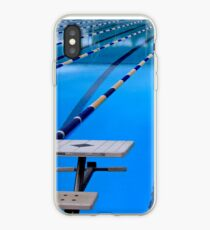 Swimming Pool - Blue & Cool iPhone Case