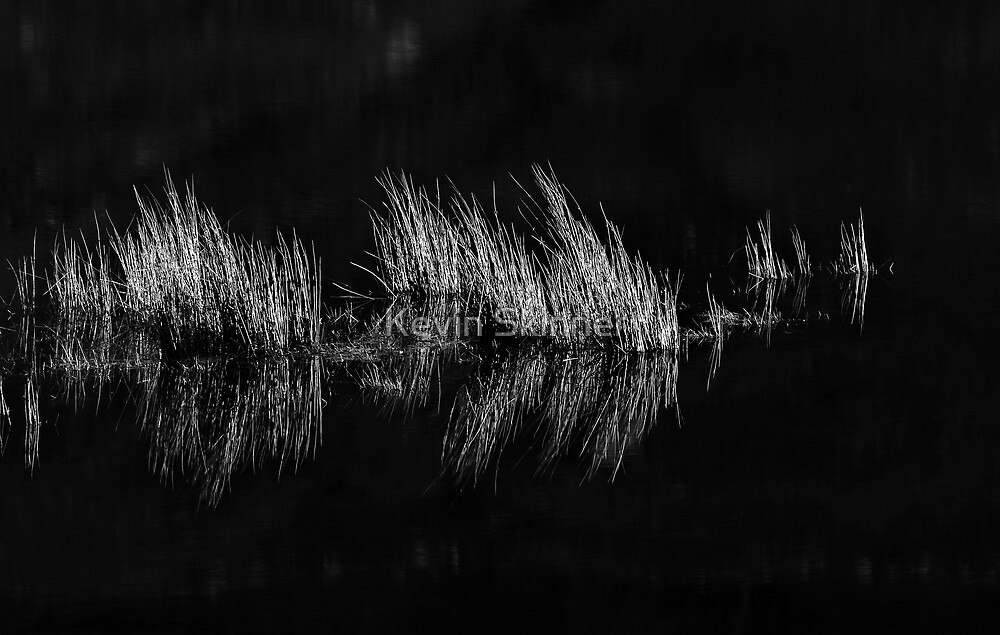 Glen Lyon - Dark Water Reflections by Kevin Skinner