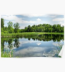 Whiteshell Reflections Poster
