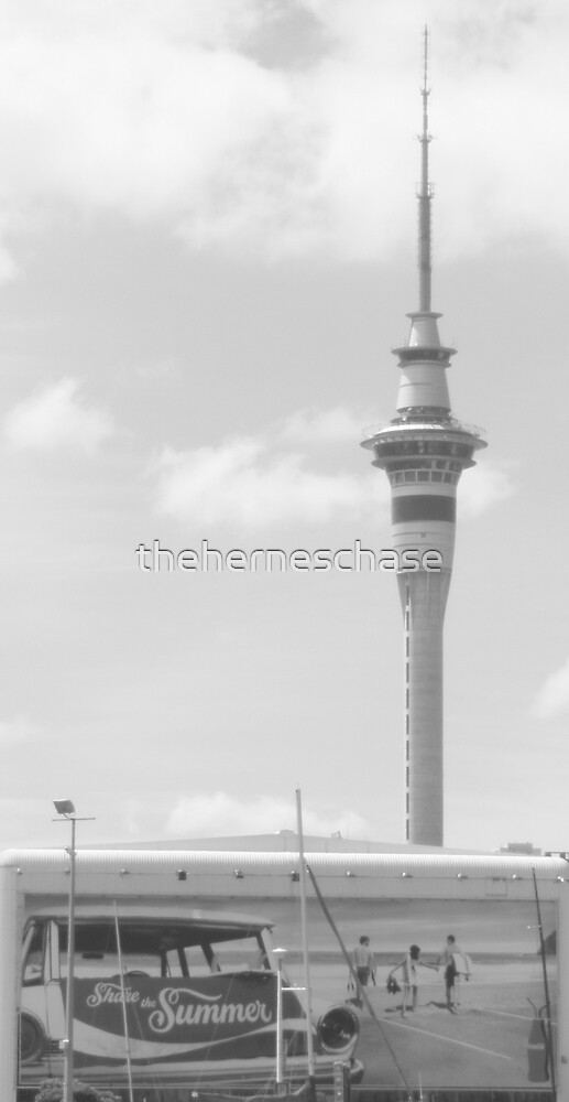 Grey Summer in Auckland by theherneschase