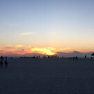 Sand Key sunset by Michael Lane