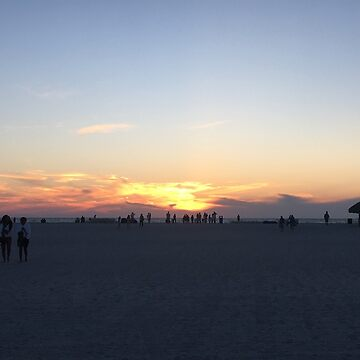 Sand Key sunset by mlane