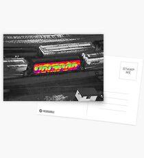 Voltron Acid Postcards