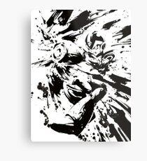 Megaman / Rockman X Painting Metal Print
