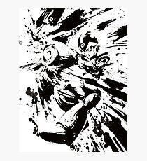 Megaman / Rockman X Painting Photographic Print
