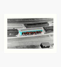 Voltron Inverted Art Print