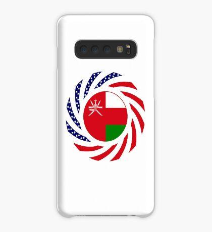 Omani American Multinational Patriot Flag Series Case/Skin for Samsung Galaxy