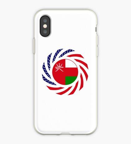 Omani American Multinational Patriot Flag Series iPhone Case