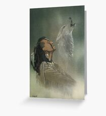 Native american greeting cards redbubble native american indian greeting card m4hsunfo