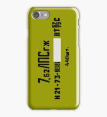 7.62x54R spam can iPhone Case/Skin