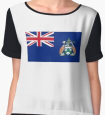 Flag of Ascension Island  Chiffon Top