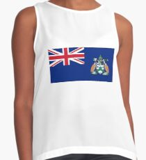 Flag of Ascension Island  Contrast Tank