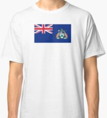 Flag of Ascension Island  Classic T-Shirt