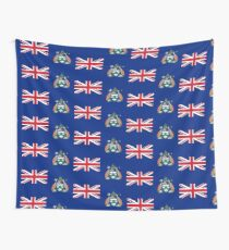Flag of Ascension Island  Wall Tapestry