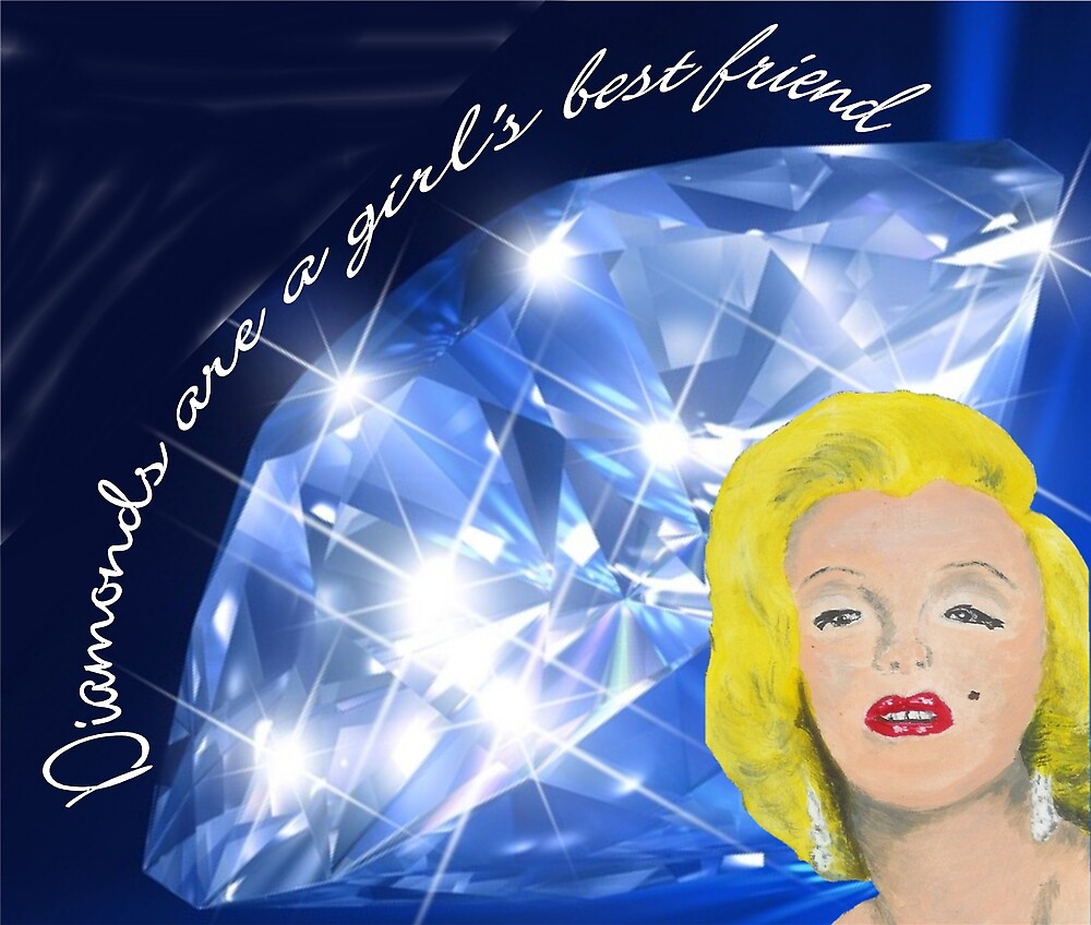 Diamonds are a Girl's Best Friend by Carol Megivern