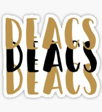 Wake Forest Deacs Sticker Sticker