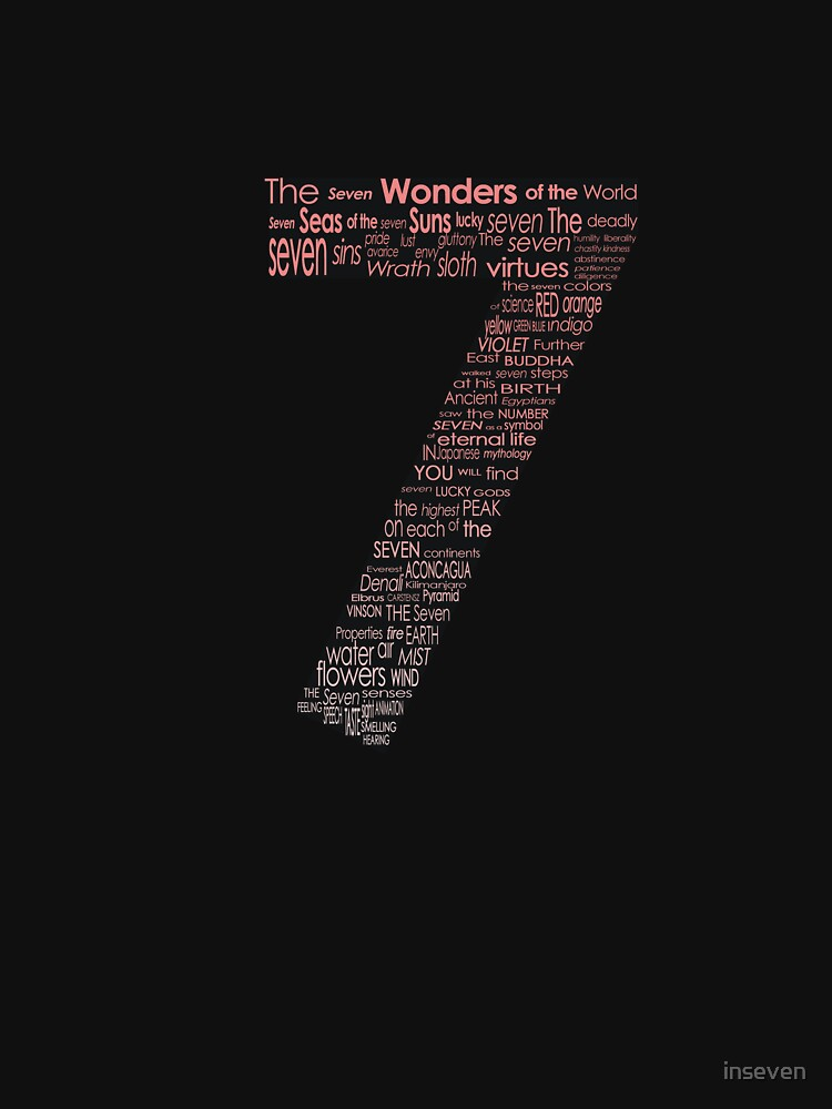 The Seven Wonders by inseven