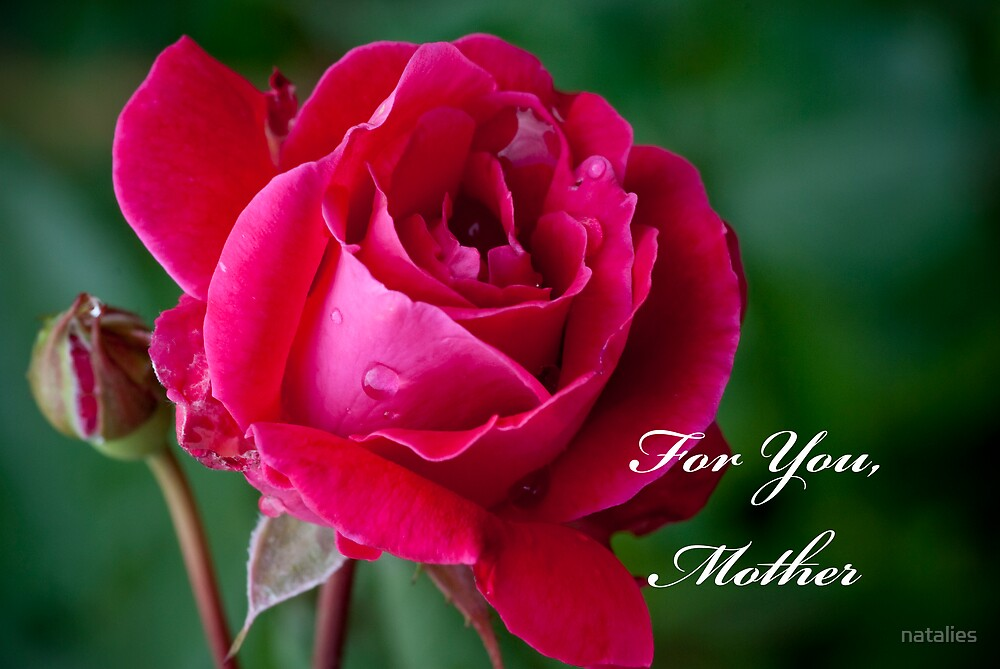 For You, Mother by natalies
