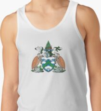 Coat of Arms of Ascension Island Tank Top