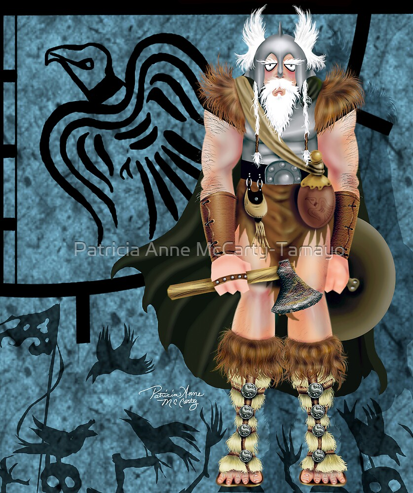 The Viking by Patricia Anne McCarty-Tamayo