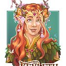 Keyleth the Druidess by AntheaWright