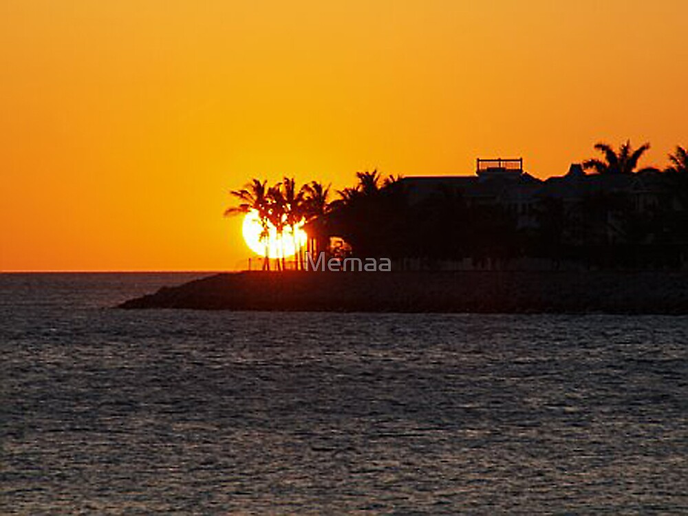 Key West Sunset by Memaa