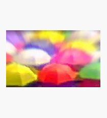 """Umbrella Rainbow"", Photo / Digital Painting Photographic Print"