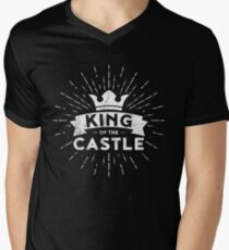 King of the Castle Men's V-Neck T-Shirt